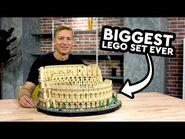 LEGO Colosseum - LARGEST EVER LEGO SET! 2020 - Designer Video 10276