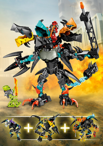 Jaw, Flyer and Splitter Beast Combi Model poster