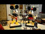 LEGO Disney Mickey Mouse & Minnie Mouse Buildable Characters Designer Video - 43179