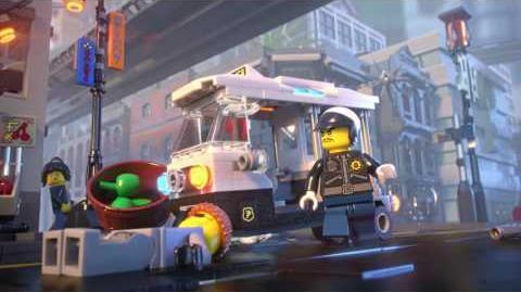 City Chase - LEGO NINJAGO Movie - 70607 - Product Animation
