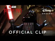 """""""Of the Dark Side"""" Official Clip - LEGO Star Wars Terrifying Tales - Disney+"""