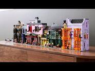 LEGO Harry Potter Diagon Alley - LEGO Designer Video - 75978