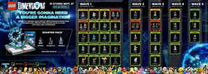 LEGO Dimensions Wave's