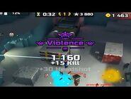 Actually getting violence wow (Pixel Gun 3D)
