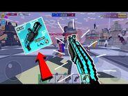 DESTROYING Casuals w- MEGA DESTROYER in Pixel Gun 3D (feat
