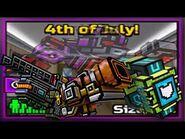Pixel Gun 3D - 4th of July Brawl in a Nutshell ( ͡° ͜ʖ ͡°)