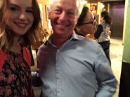 Bridgit with her Dad Undateable Live