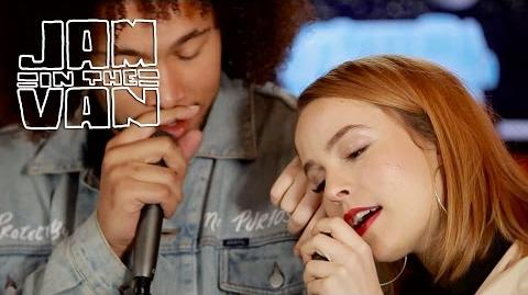 "BRIDGIT MENDLER x DEVONTÉE - ""Temperamental Love"" (Live From JITV HQ in Los Angeles, CA 2017)"