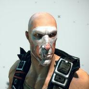 White Skull Face Paint