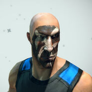 Barbarian Face Paint