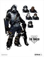 The Shield Concept Art