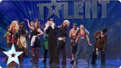 Showtime! They're Chasing the Dream Week 7 Auditions Britain's Got Talent 2013