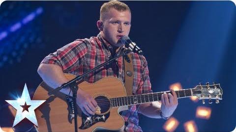 Robbie Kennedy singing Bryan Adams's 'Everything I Do' Semi-Final 3 Britain's Got Talent 2013