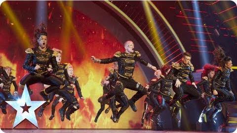 MD dance troupe strut their stuff Semi-Final 2 Britain's Got Talent 2013