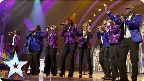 Gospel Singers Incognito sing 'Oh Happy Day' Semi-Final 5 Britain's Got Talent 2013