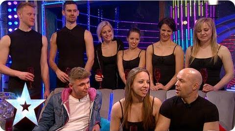 Stephen chats with Attraction and Jordan O'Keefe Semi-Final 5 Britain's Got More Talent 2013