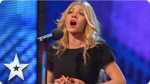 Aliki singing 'Wake Me Up' Week 6 Auditions Britain's Got Talent 2013