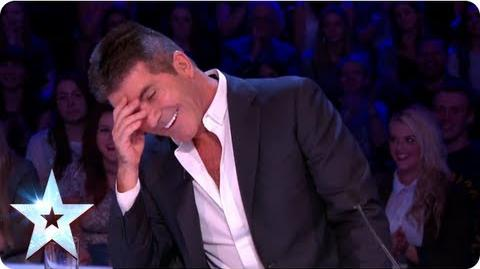 What is David Walliams dying to know about Simon Cowell Semi-Final 3 Britain's Got Talent 2013