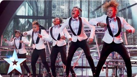 Shockarellas dancing is on another level! Semi-Final 4 Britain's Got Talent 2013