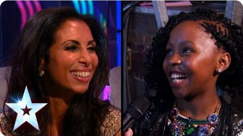 Finalists Francine and Asanda have their say on BGMT Semi-Final 4 Britain's Got Talent 2013