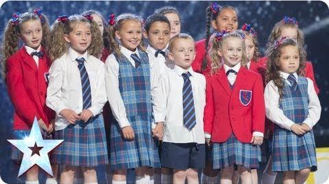 Preskool dance troupe Get Ready to Rhumble! Semi-Final 3 Britain's Got Talent 2013