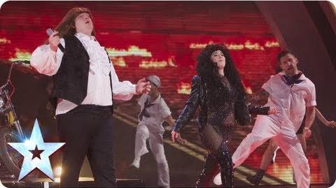 Meat Diva impressionists of the stars Semi-Final 2 Britain's Got Talent 2013