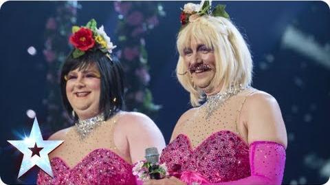 Bosom Buddies sing 'Time To Say Goodbye' Semi-Final 1 Britain's Got Talent 2013