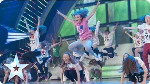 OMG! Youth Creation dance mashup! Semi-Final 1 Britain's Got Talent 2013