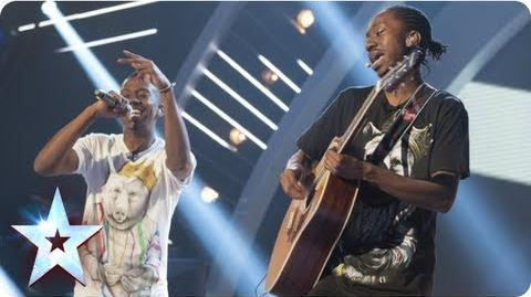 J-Unity put their own spin on 'Troublemaker' Semi-Final 1 Britain's Got Talent 2013