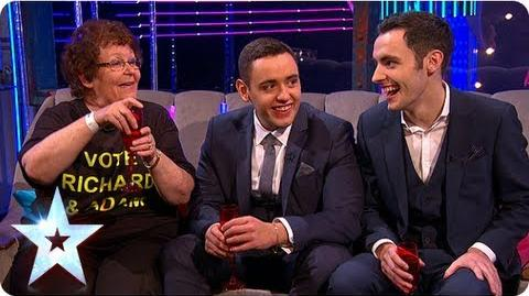 Stephen Mulhern chats with semi-final winners Semi-Final 1 Britain's Got More Talent 2013