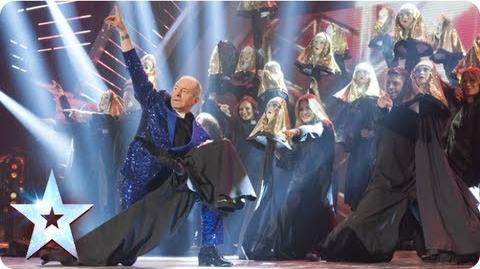 The Hills Are Alive with Martin Healey Semi-Final 1 Britain's Got Talent 2013