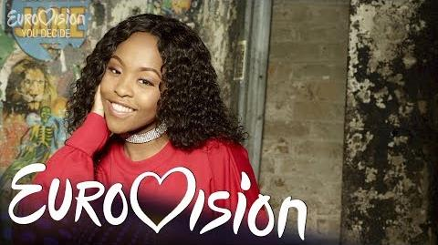 Asanda sings Legends - Eurovision You Decide 2018 Artist