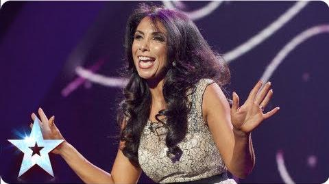 Francine Lewis entertains all with her impressions Semi-Final 4 Britain's Got Talent 2013