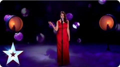 Alice Fredenham singing 'Cry Me A River' Semi-Final 2 Britain's Got Talent 2013