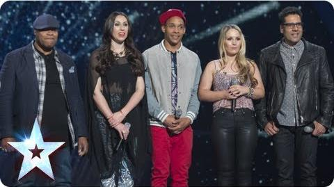 Band of Voices sing 'Hit Me Baby One More Time' Semi-Final 1 Britain's Got Talent 2013