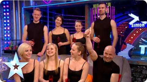 Attraction's winners chat with Stephen and BGMT crew Final 2013 Britain's Got More Talent 2013