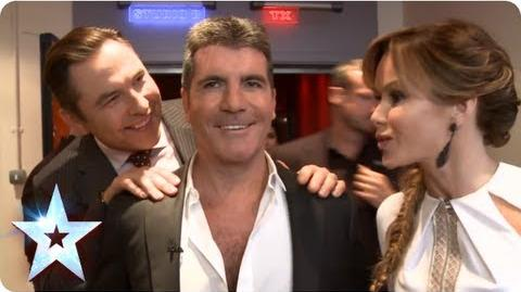 Access All Areas at the Semi-Finals BGT Unseen with Morrisons Britain's Got Talent 2013