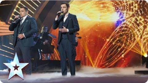 Richard and Adam sing 'Somewhere' from West Side Story Semi-Final 1 Britain's Got Talent 2013