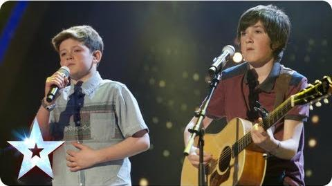 Jack and Cormac sing 'I Knew You Were Trouble' Semi-Final 2 Britain's Got Talent 2013