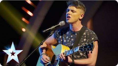 Jordan O'Keefe singing 'I Will Always Love You' Semi-Final 5 Britain's Got Talent 2013