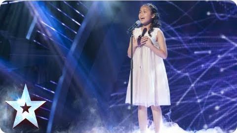 Arisxandra sings Whitney Houston's 'I Have Nothing' Semi-Final 1 Britain's Got Talent 2013