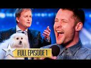 A GOLDEN BUZZER debut for Callum Scott! - Britain's Got Talent - Series 9 - Episode 1 - FULL EPISODE