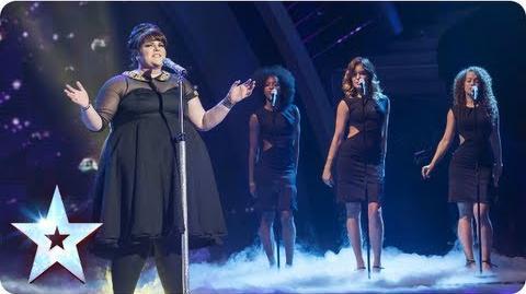 Rosie O'Sullivan singing 'When A Man Loves A Woman' Semi-Final 3 Britain's Got Talent 2013