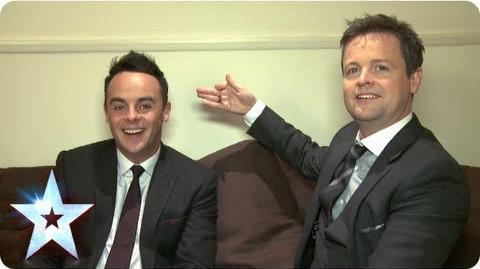 Ant and Dec chat with BGT Insider and share some highlights Britain's Got Talent 2013