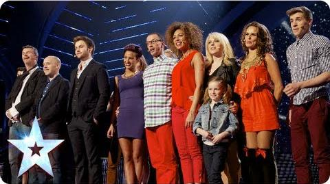 Chasing the Dream perform a song from their musical Semi-Final 4 Britain's Got Talent 2013