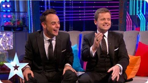 UNBELIEVABLE! Ant & Dec reflect with Stephen on BGT 2013 Final Britain's Got More Talent 2013