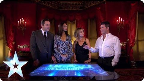 The Judges are making their minds up! Britain's Got Talent 2013