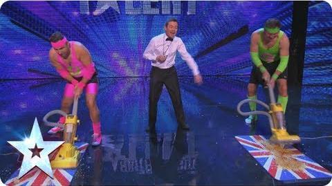 David Vs Goliath, who shall be the champion sucker? Britain's Got More Talent 2013