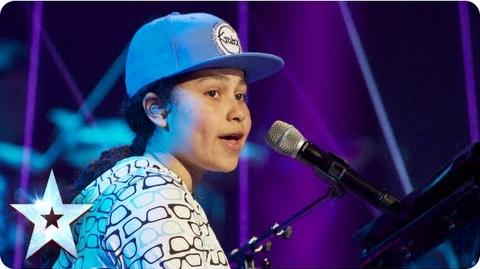 Gabz the lyrical genius singing 'Just Lie There' Final 2013 Britain's Got Talent 2013