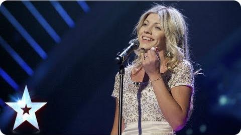 Aliki singing 'Come What May' Semi-Final 5 Britain's Got Talent 2013